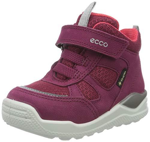 Ecco Baby Mädchen URBANMINI Sneaker, Violett (Red Plum/Teaberry 51799), 24 EU