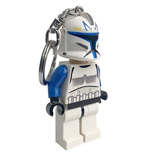 LEGO- Star Wars Captain Rex Portachiavi LED, IQLGLKE, Multicolore, Taglia Unica, IQLGL-KE42