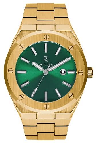 Paul Rich Signature King'S Jade Staal PR68GGS horloge 45 mm
