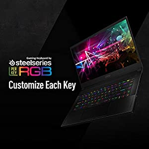 """MSI GS66 Stealth 10SE-442 15.6"""" 240Hz 3ms Ultra Thin and Light Gaming Laptop Intel Core i7-10875H RTX2060 16GB 512GB NVMe SSD Win10PRO VR Ready"""