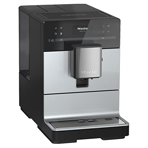NEW Miele CM 5510 Silence Automatic Coffee Maker & Espresso Machine Combo, AluSilver Metallic Finish - Grinder, Milk Frother