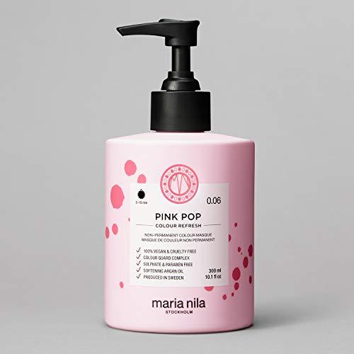 Maria Nila Colour Refresh - Pink Pop 300ml | Eine revolutionäre Farbmaske zur Auffrischung und Intensivierung der Haarfarbe