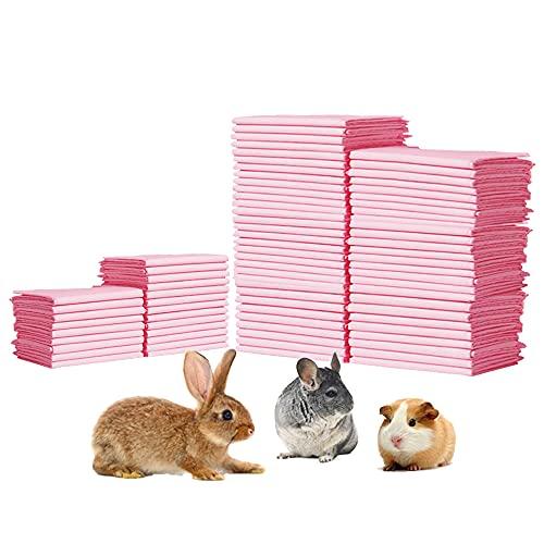 Amakunft 100 Pcs Rabbit Pee Pads, 18