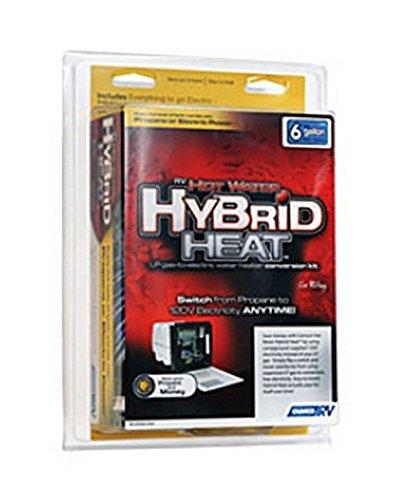 Camco 11773 - RV Trailer Camper Appliances Hybrid Heat Water Heater 10 Gallon