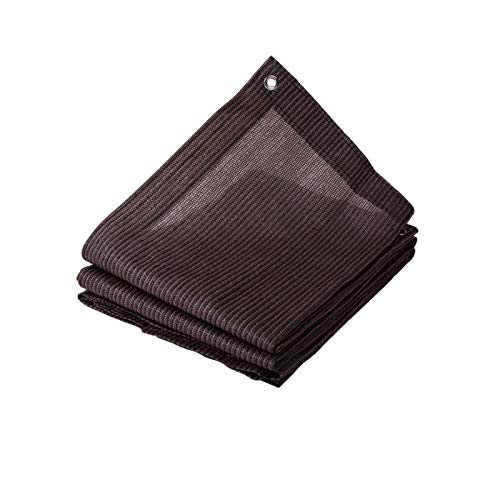 AWSAD Sonnenschutz Tuch, Innen und Außenbe Beschattungsnetz, 90% Schattierungsrate, Sonnenschutzlüftung, für Balkon Pflanzendecke, 23 Größen (Color : Bruin, Size : 1x3m)