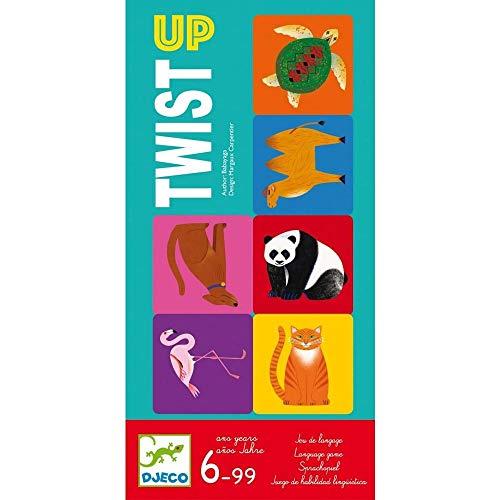 Djeco- Juego Twist up Juguetes para apilar y Encajar (38541)