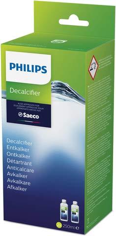 Saeco Entkalker, flüssig, Flasche, 2 x 250 ml (500 ml), Sie erhalten 2 x 250 ml