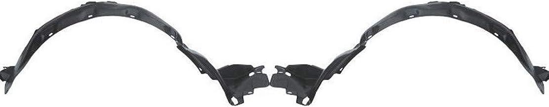 For Acura Legend Splash Guard/Fender Liner 1991 92 93 94 1995 Driver and Passenger Side Pair/Set | Front | Coupe | L/LS | AC1248104 + AC1249104 | 74151SP1000 + 74101SP1000
