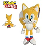 Sonic - Peluche Tails Miles Prower 13'/33cm Color Amarillo Calidad Super Soft