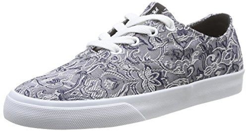 Supra WOMENS WRAP, Damen Sneakers, Grau (GREY/PATTERN-WHITE GPA), 38 EU (4.5 Damen UK)