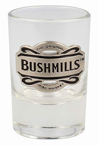 Bushmills - El vaso de chupito de whisky irlandés original de Bushmills