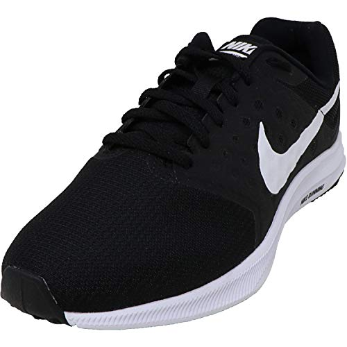 Nike Womens Downshifter 7 Wide Running Shoes (9.5 X-Wide) Black/White