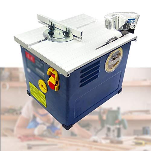 Enwebalay Mesa Corte Madera,Sierra Marqueteria Electrica,2400W,Profundidad Corte 33 Mm,Potentes Motores Duales,Tablero De...