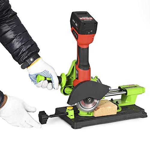 Angle grinder stand grinder holder cutter support cast iron base compatible for 4.5
