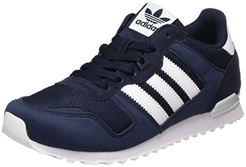 adidas ZX 700, Zapatillas de Entrenamiento Unisex Adulto, Azul (Night Navy/FTWR White/Collegiate Navy), 36 EU