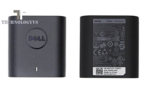 New Genuine Dell Power Supply Venue 8, Venue Pro 7 11 11s Pro AC KTCCJ 450-ABTN HA24NM130 DA24NM130 DP/N 0KTCCJ 19.5V 1.2A Laptop Adapter