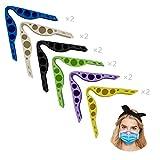 12X Clip de Puente Nasal Antivaho,Clip de Soporte Nasal de Silicona,Puede Respirar Cómodamente y Evitar Las Gafas Se Empañen, Puente Nasal Antivaho para Adultos y Niños