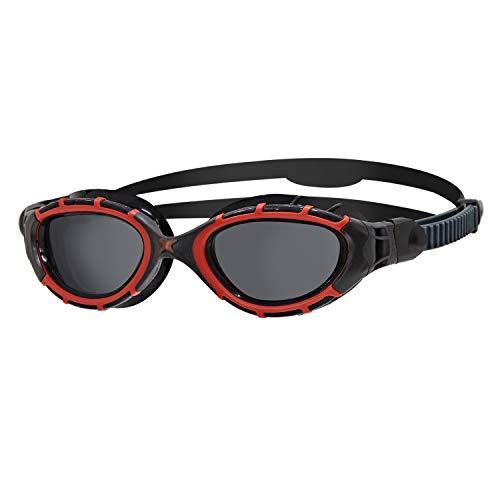Zoggs Predator Flex Polarized-Regular Fit Gafas de natación, Adultos Unisex, Multicolor (Multicolor), Talla Única