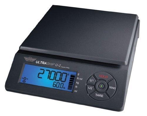 My Weigh SCMULTRA2-60 055 ULTRASHIP U2 Balance Noir 27,2 kg
