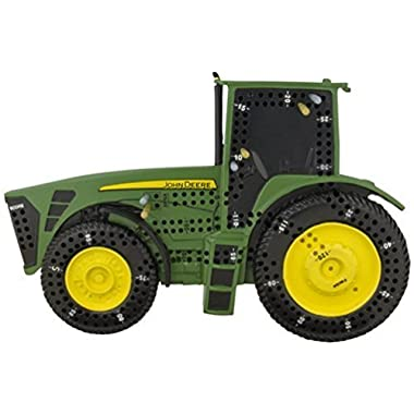 Unique John Deere Tractor Shaped Cribbage Board Game with Pegs