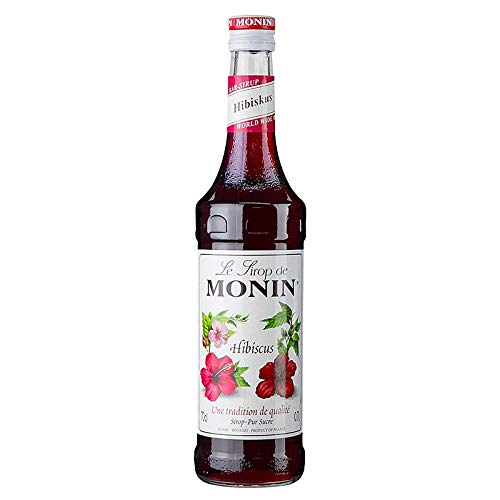 Hibiskus Sirup von Monin aus Frankreich, 700 ml