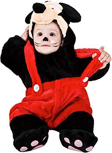 VENEZIANO Costume Carnevale da Dolce TOPINO Vestito per Neonato Bambino 3-12 Mesi Travestimento Halloween Cosplay Festa Party 2929 6-9 Mesi