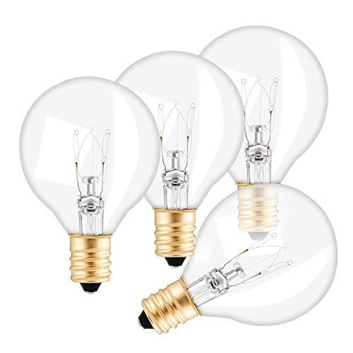 Avoalre Ersatzbirnen lichterkette G40 Ersatzbirne, 7W mit Schnur-Licht-E12-Sockel, warmes Weiß IP65 220-240V geeignet für Avoalre Glühbirne Lichterkette (Glühbirne)