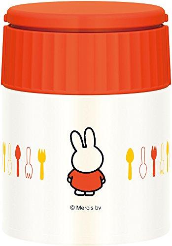 サーモス真空断熱スープジャー300mlミッフィーオレンジJBQ-300BOR