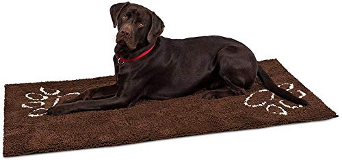 Internet's Best Chenille Dog Doormat - 60 x 30 - Absorbent Surface - Non-Skid Bottom - Protects...