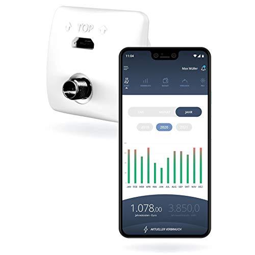 Powerfox PA201902 Energiekosten-Messgerät-Zubehör mit App-Steuerung (nur für eBZ Stromzähler)