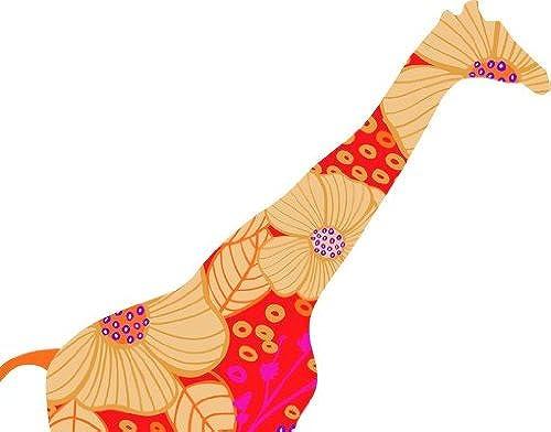 Sticker de fenêtre no.401 rouge deco style giraffe, film de fenêtre, autocollant de fenêtre, tatouage de fenêtre, sticker vitres, image de fenêtre, déco de fenêtre, décoration de fenêtre, DiPour des hommesion  114cm x 90cm