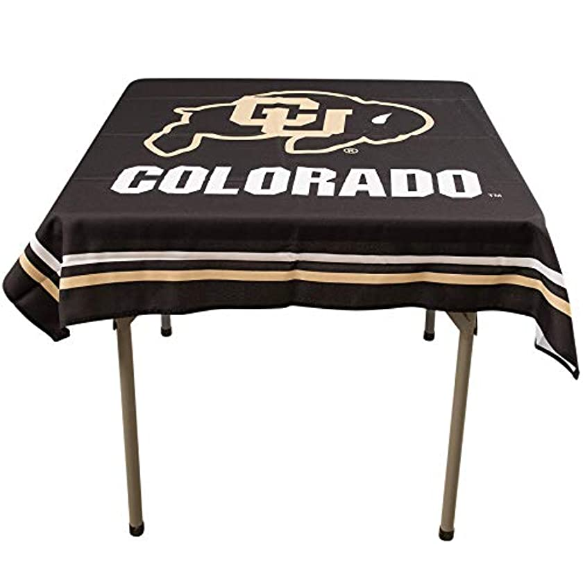 College Flags and Banners Co. Colorado Buffaloes Logo Tablecloth or Table Overlay