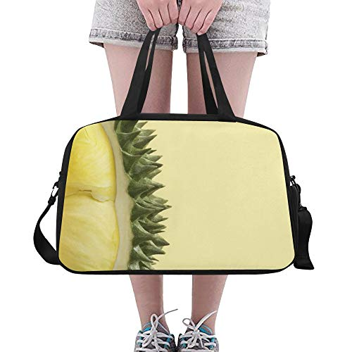 Training Duffel Durian King Of Fruits Yoga Gym Totes Fitness Handbags Duffel Bags Shoe Pouch For Sport Luggage Womens Outdoor Toddler Duffel Bag