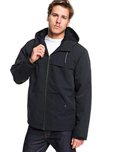 Quiksilver™ Waiting Period Hooded WaterResistant Parka for Men Männer