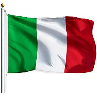 G128 – Italy (Italian) Flag | 3x5 feet | Printed – Vibrant Colors, Brass Grommets, Quality Polyester