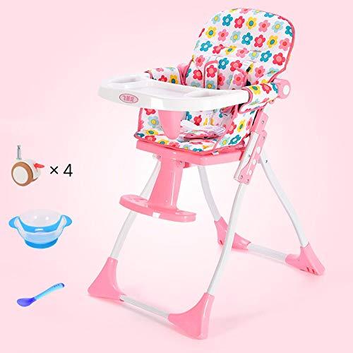Chaise de bébé Pliable Siège léger Portable Repas pour enfants Bébé Table multifonctionnelle et chaise Chaise pour enfantsB