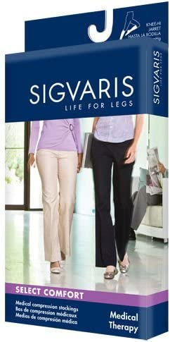 Sigvaris Women's 860 Select Comfort Series Firm Support Thigh Highs, Pair