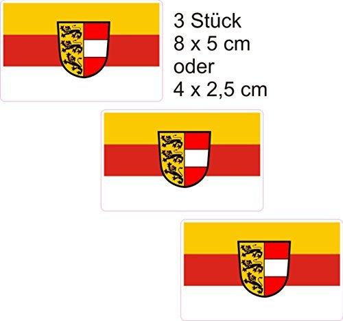 Stickers Oostenrijk Kaarten 8 x5 cm