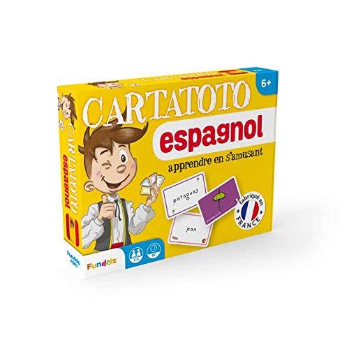Cartatoto Espagnol - Jeu de 110 Cartes cartonnées plastifiées