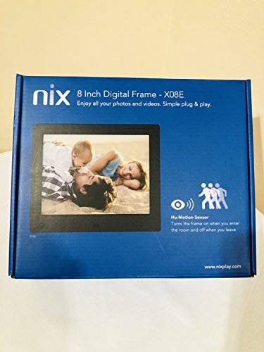 NIX Advance 8 Inch USB Digital Picture Frame