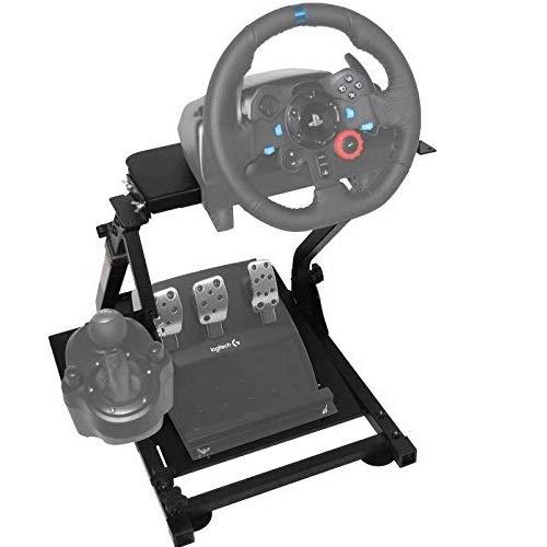 BuoQua G29 Steering Wheel Stand per Logitech G27 G25 G29 E G920 Volante con Supporto V2 Supporto Giochi Solo Supporto Ruota E Pedale Non Incluso
