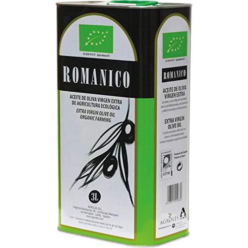 ロマニコ オーガニック エキストラバージン オリーブオイル 3L