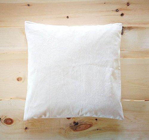 zirbenkissen24 Coussin 40 x 40/40 x 40 cm Premium de pin Santé Coussin 100% Coton Bio Nature * Nouveau *