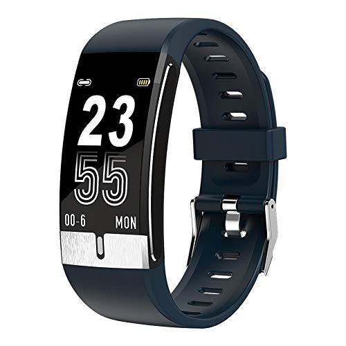 Hanguang Smartwatch Fitness Sportuhr Damen Herren Wasserdicht Temperatur Armband Elektrokardiogramm Manschette Blutdruck Sauerstoff im Blut, Blutfrequenz