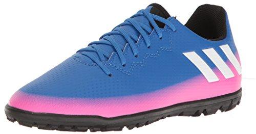 adidas Messi 16.3 Tf J - Zapatillas de skate para niños, azul (azul/blanco/precaución), 33 EU
