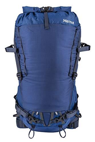 Marmot Eiger 42 Ultra léger, Sac a Dos de randonnée, capacité de 42 L, idéal pour Trekking et Voyager Mixte Adulte, Estate Blue/Total Eclipse, FR Unique (Taille Fabricant