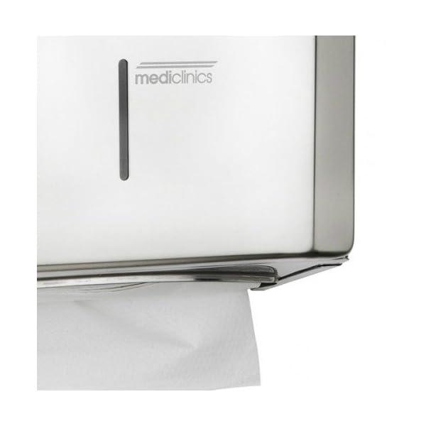 Mediclinics – Disp. Papel Toalla Inox (DT2106C)