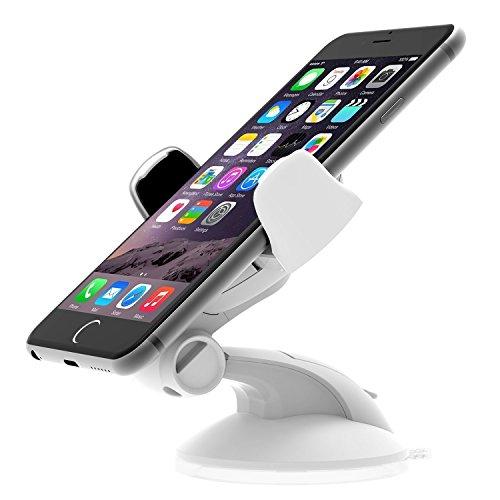 iOttie Easy Flex 3 Car Mount Holder Desk Stand for Apple iPhone XR / XS / XS Max / 8 / 8 Plus / 7 / 7 Plus / 6 / 6 Plus / 5 / 5S / 5C / 4S / Galaxy S9 / S9 Plus / Galaxye Note 9 / Galaxy S8/S8 Plus/S7/S7 Edge/S6 Edge/Galaxy Note 8/Note 5/Nexus 6/Smartphones