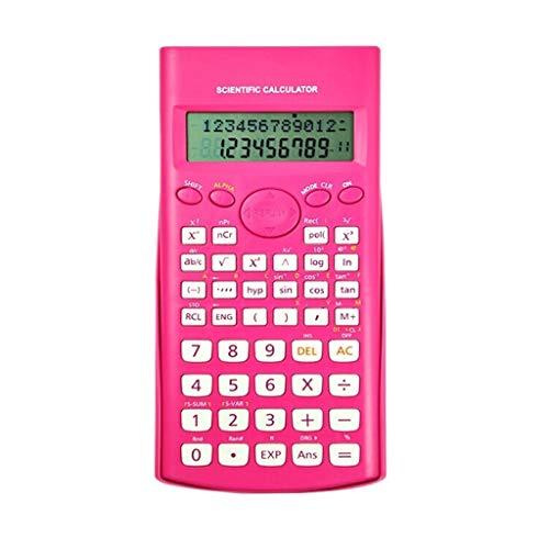 BingWS wetenschappelijke rekenmachine, wetenschappelijke rekenmachine, 12-cijferige rekenmachine, LCD-display, grote functie, standaardapparaat, draagbaar kantoor, basisrekenmachine