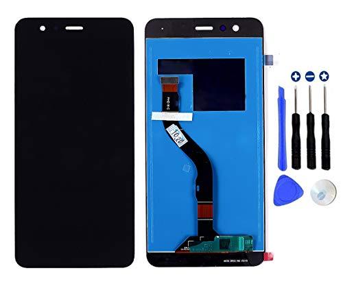 Schermo Display LCD per Huawei P10 Lite Was-LX1 / Nova Lite Nero, Touch Screen Digitizer Vetro Parti di Ricambio (Black No Frame)
